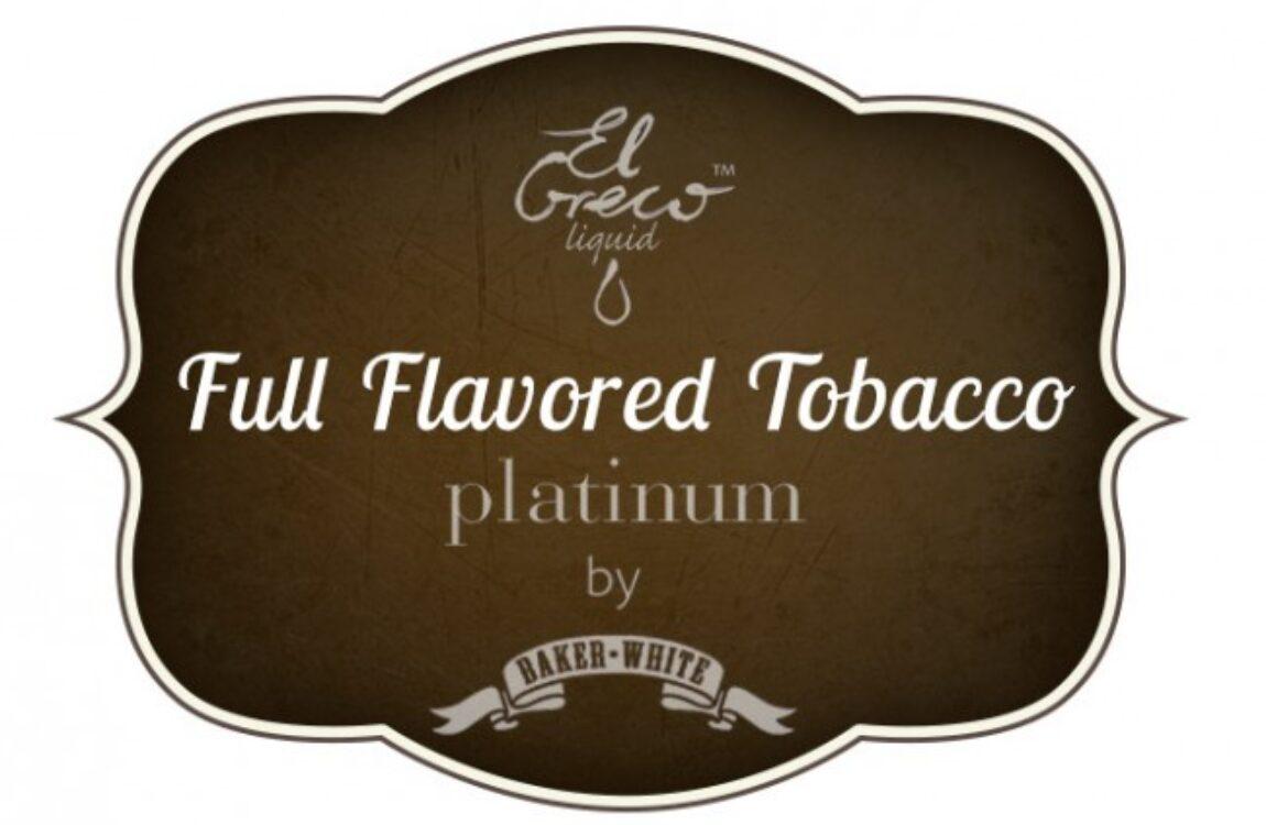 Full Flavored Tobacco – El Greco Platinum